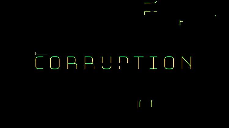 Glitch: Corruption: Transitions