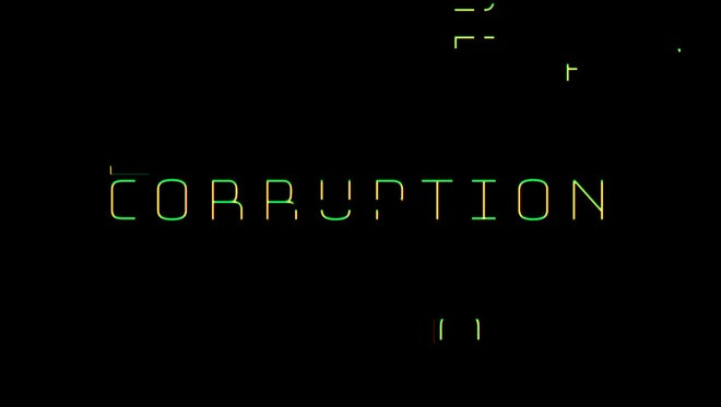 Glitch: Corruption: Transitions