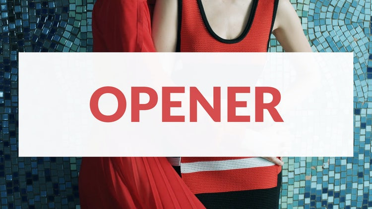 Opener: Premiere Pro Templates