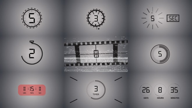 Countdown Pack: After Effects Templates