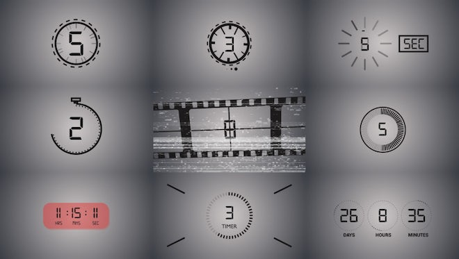 Countdown Pack: Stock Motion Graphics