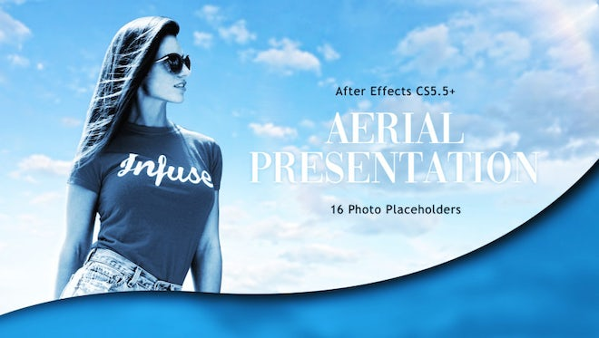 Aerial Presentation: After Effects Templates