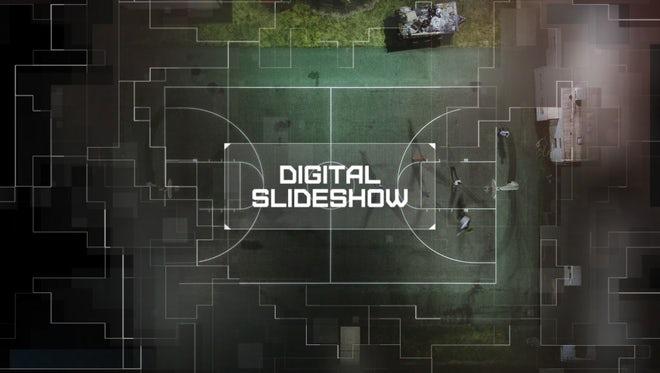 Slideshow Premiere - Digital Mosaic: Premiere Pro Templates