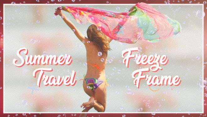 Summer Travel Freeze Frame: Premiere Pro Templates