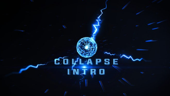 Logo Collapse: After Effects Templates