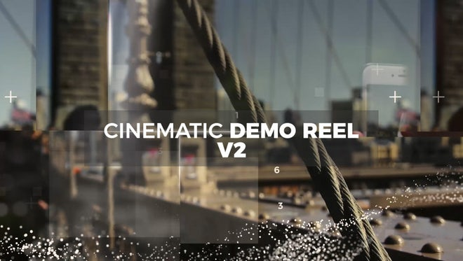 Cinematic Demo Reel v2: Premiere Pro Templates