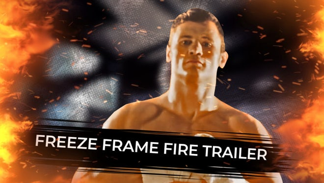 Freeze Frame Fire Trailer: After Effects Templates