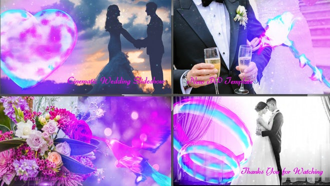 Cinematic Wedding Slideshow: Premiere Pro Templates