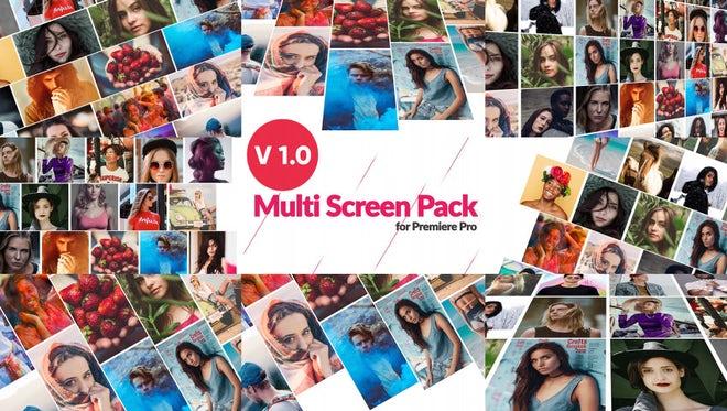Multi-Screen Pack for Premiere Pro: Premiere Pro Templates