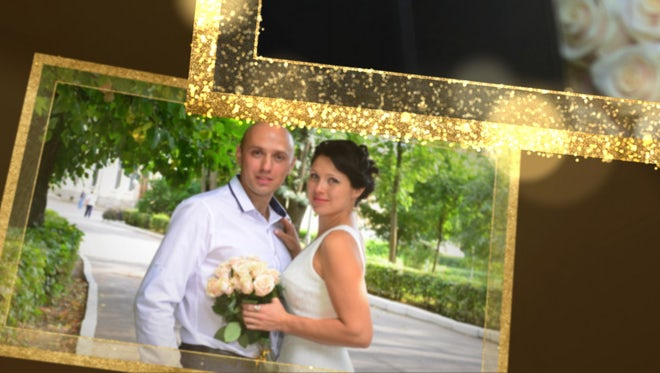 Wedding Photo Slideshow: After Effects Templates