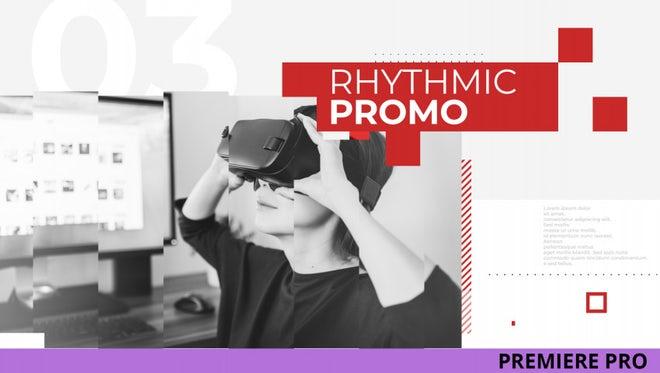 Rhythmic Promo: Premiere Pro Templates