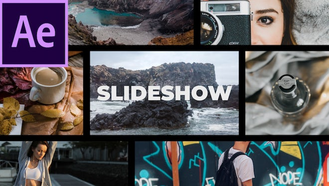 Media Opener Slideshow: After Effects Templates