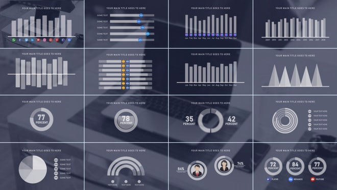 Infographics Pack - Motion Graphics Templates | Motion Array