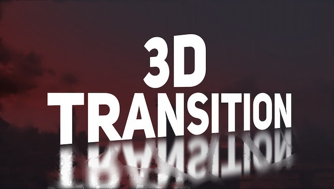 3D Transition: Premiere Pro Templates