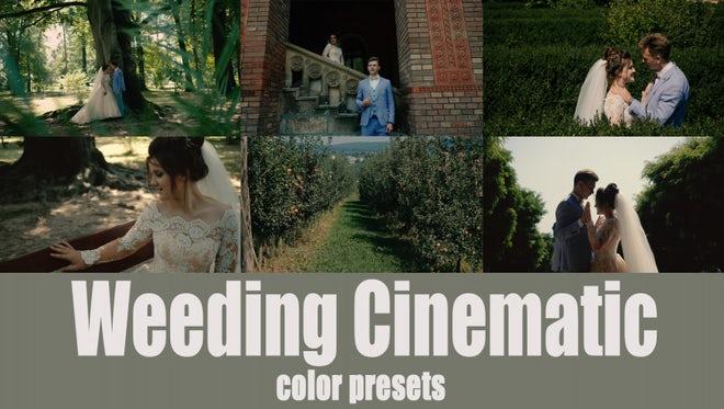 35 Cinematic Wedding Presets: Premiere Pro Presets