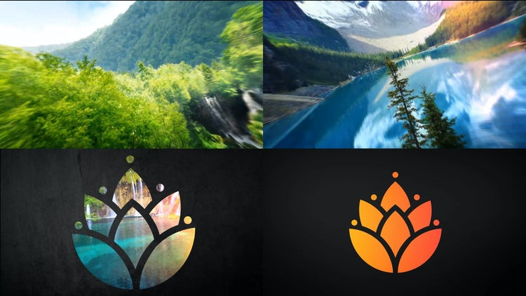 Film-Strip Logo Reveal: After Effects Templates