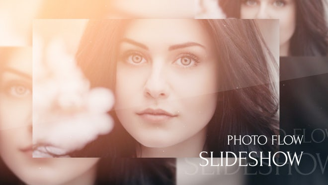 Slideshow - Photo Flow: After Effects Templates