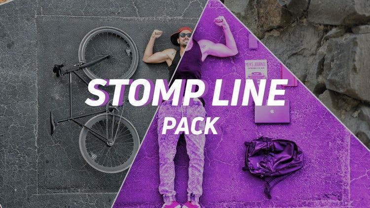Stomp Line Pack: Premiere Pro Templates