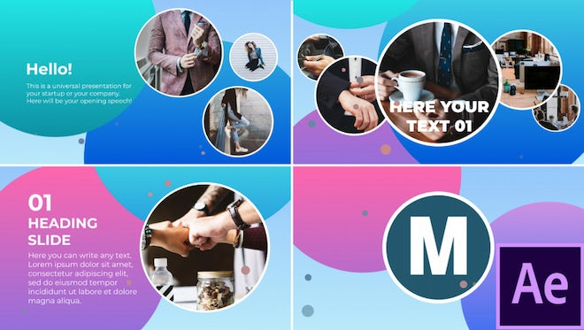 Trendy Corporate Presentation: After Effects Templates