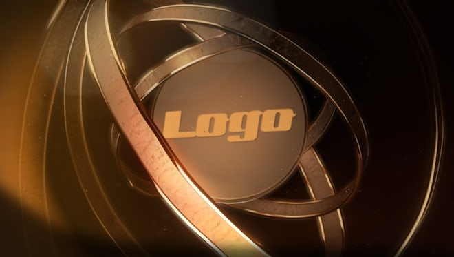 Gold Rings Logo: After Effects Templates