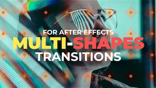 Modern Multi-Shapes Transitions: After Effects Templates