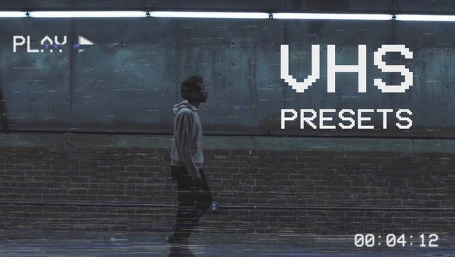 VHS Presets: Premiere Pro Presets