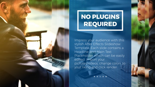 Corporate Business Slideshow: After Effects Templates