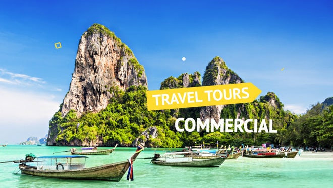 Travel Tours Commercial: After Effects Templates