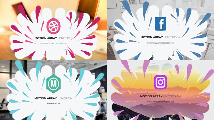 Drops Logo: After Effects Templates