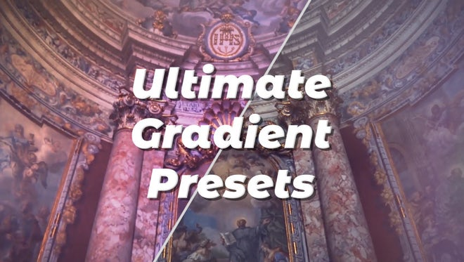Ultimate Gradient Presets: Premiere Pro Presets