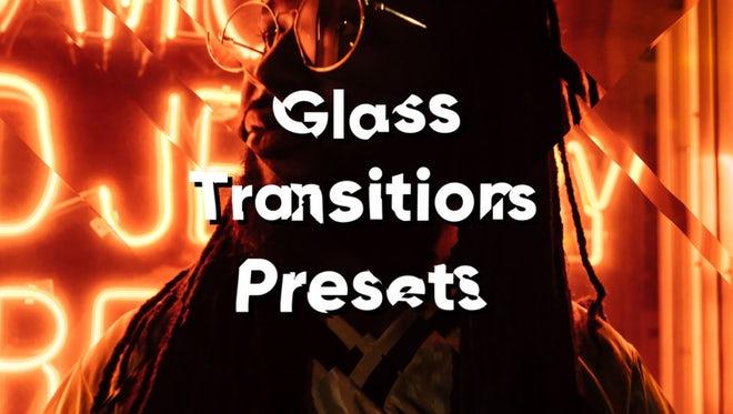 Glass Presets: Premiere Pro Presets