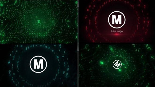 Digital Code Logo: Premiere Pro Templates
