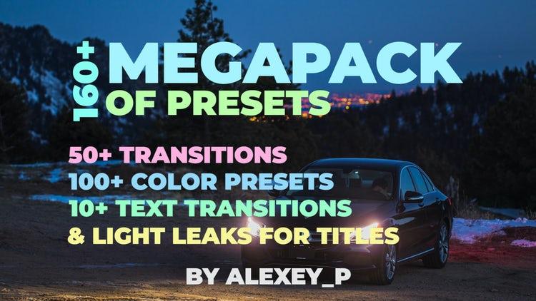 160+ MegaPack: Premiere Pro Presets