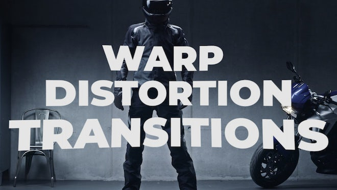 Warp Distortion Transitions: Premiere Pro Templates