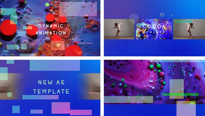 Cocoa Bright Intro: After Effects Templates