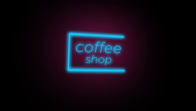 Neon Sign Titles: Motion Graphics Templates