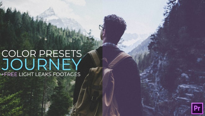 Color Presets. Journey: Premiere Pro Presets