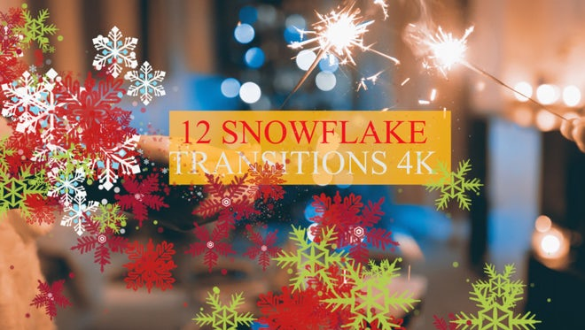 Christmas Snowflakes Pack: Stock Motion Graphics