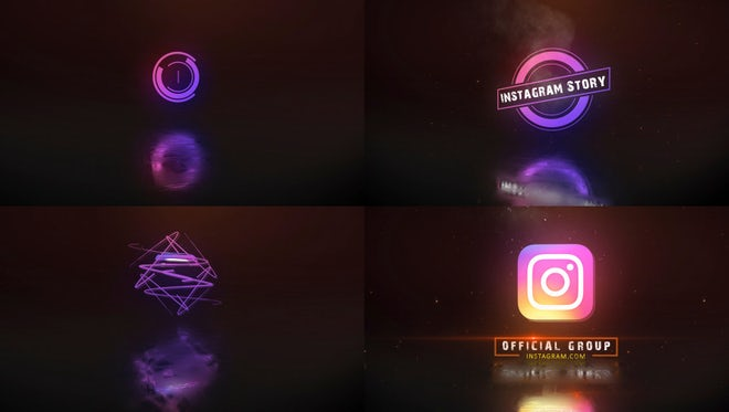 Text and Logo animated: After Effects Templates