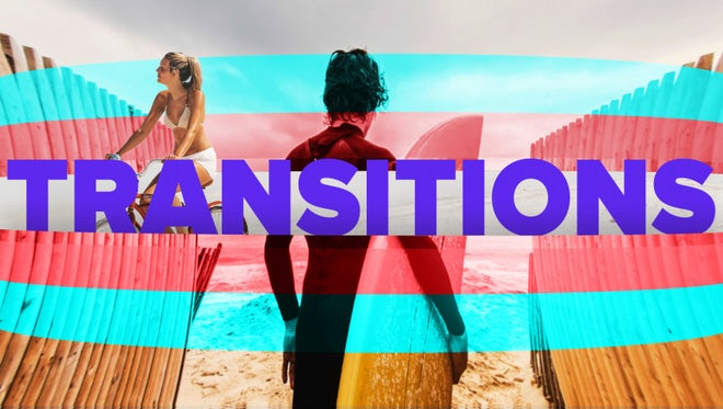 Modern Cartoon Transitions: After Effects Templates