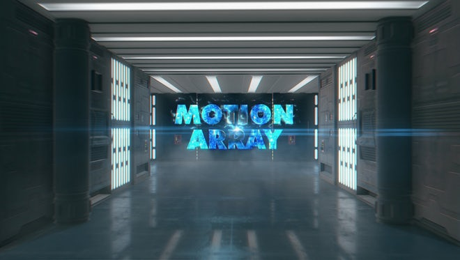 Corridor Future Logo Reveal: After Effects Templates