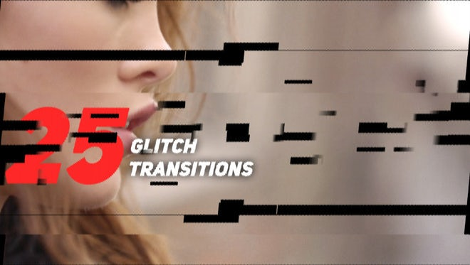 Glitch Transitions Pack: Premiere Pro Presets