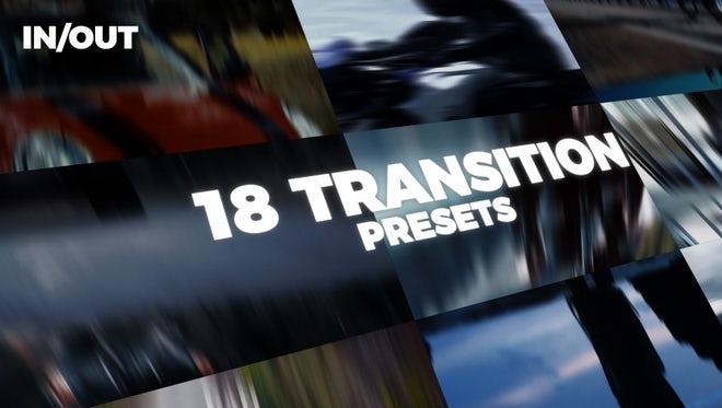 18 Transition: Premiere Pro Presets