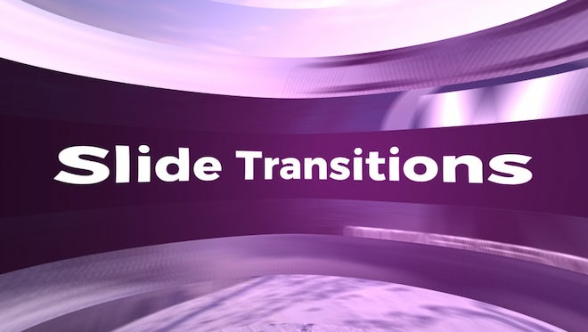 Slide Transitions: Premiere Pro Templates