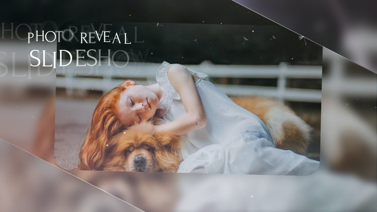 Slideshow - Elegant Reveal: After Effects Templates