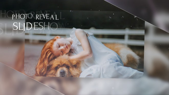 Slideshow - Elegant Reveal: After Effects Templates