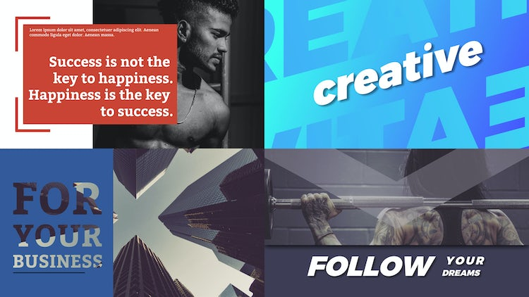 Trendy Typography Pack: After Effects Templates