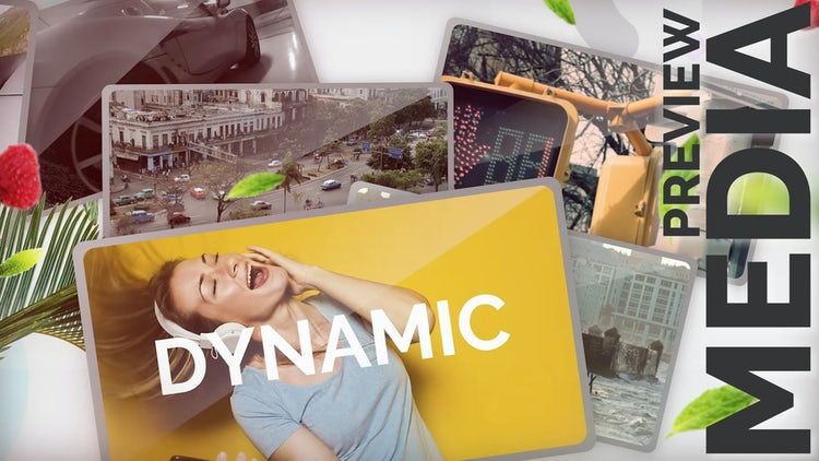 Dynamic Preview Media: Premiere Pro Templates