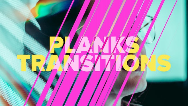 Modern Plank Transitions: After Effects Templates