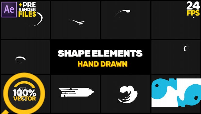 Funny Shapes: After Effects Templates